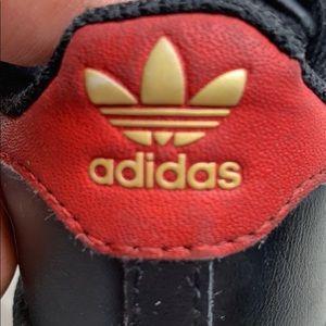 Toddler Size 9 Adidas Superstar Classics BlackRed